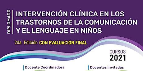 """""""Intervención clínica en los trastornos de la comunicación y el lenguaje entradas"""