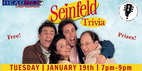 Seinfeld Trivia at Guitars & Growlers- Richardson, TX tickets