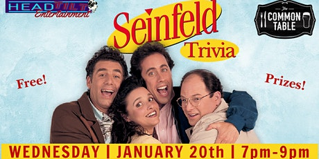 Seinfeld Trivia at The Common Table - Frisco, TX tickets