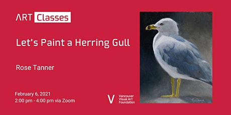 Let's Paint a Herring Gull Art Class tickets