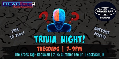 General Trivia at The Brass Tap - Rockwall tickets