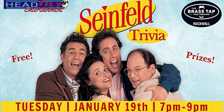 Seinfeld Trivia Night at The Brass Tap Rockwall tickets