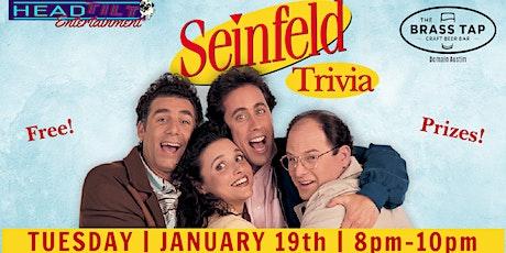 Seinfeld Trivia at The Brass Tap - Domain Austin tickets