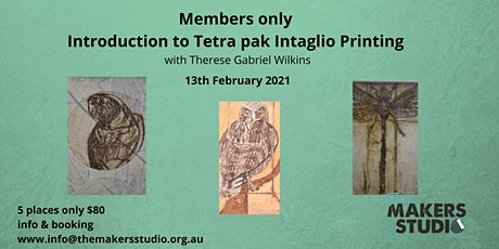 Tetra Pak Intaglio Printing - Therese Wilkins 13/2/21 tickets