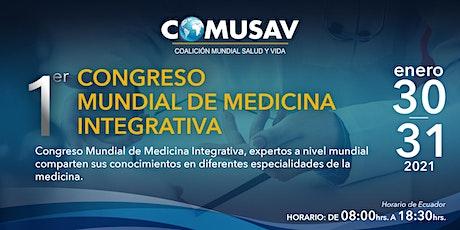 COMUSAV - 1er Congreso Mundial de Medicina Integrativa boletos
