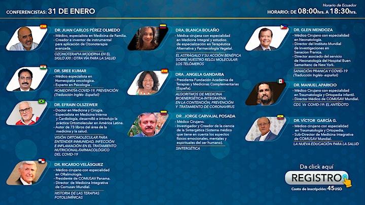 Imagen de COMUSAV - 1er Congreso Mundial de Medicina Integrativa