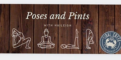 Poses and Pints: Yoga class at Tidal Creek Brewhouse tickets