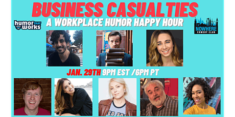 Business Casualties: Humor Happy Hour tickets