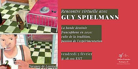 La bande dessinée avec Guy Spielmann tickets