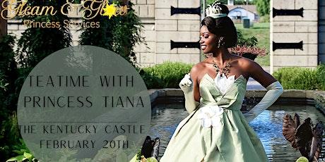 Teatime with Princess Tiana tickets