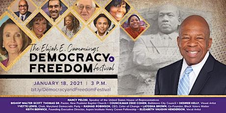 Elijah E. Cummings Democracy and Freedom Festival tickets