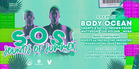 S.O.S Sounds Of Summer ft. BODY OCEAN - House Tech tickets