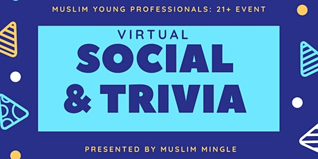 Virtual Social & Trivia Night  - CANADIANS ONLY tickets