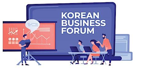 KOREAN BUSINESS FORUM tickets