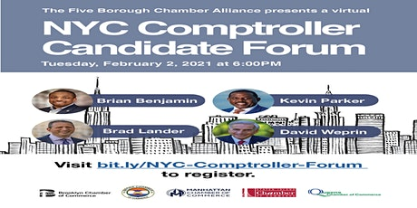 NYC Comptroller Candidate Forum (Virtual) tickets