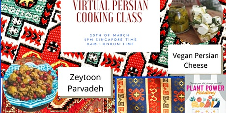 Persian Virtual Cooking Class tickets
