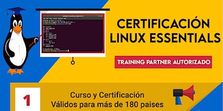 Curso de Certificación Linux Básico tickets