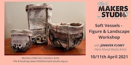 SOFT VESSELS - Figure & Landscape Workshop - with Jennifer Florey tickets