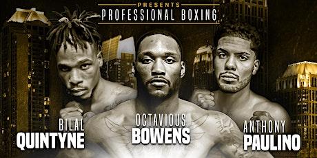Sugar Bert Boxing Presents - Professional Boxing: Vegas In Atlanta Series tickets