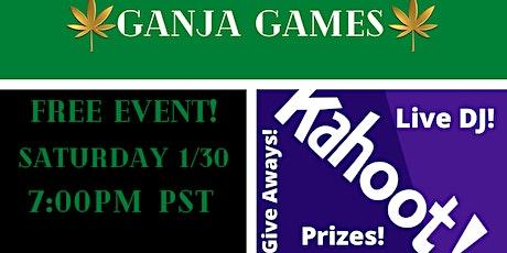 Ganja Games tickets