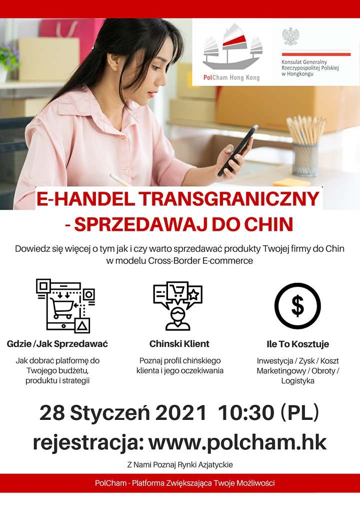 E-HANDEL TRANSGRANICZNY - SPRZEDAWAJ DO CHIN image