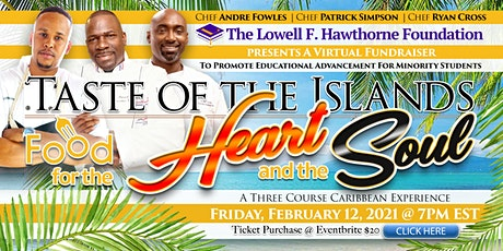 The Lowell F. Hawthorne Foundation, Food for the Heart and the Soul tickets