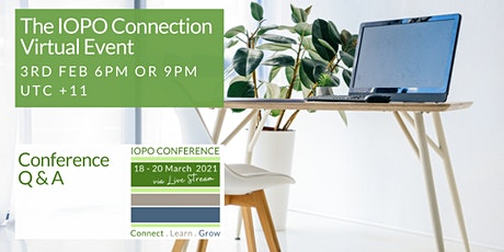 The IOPO Connection Event - Conference Q&A tickets