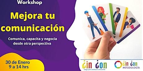 Workshop: Mejora tu comunicación boletos