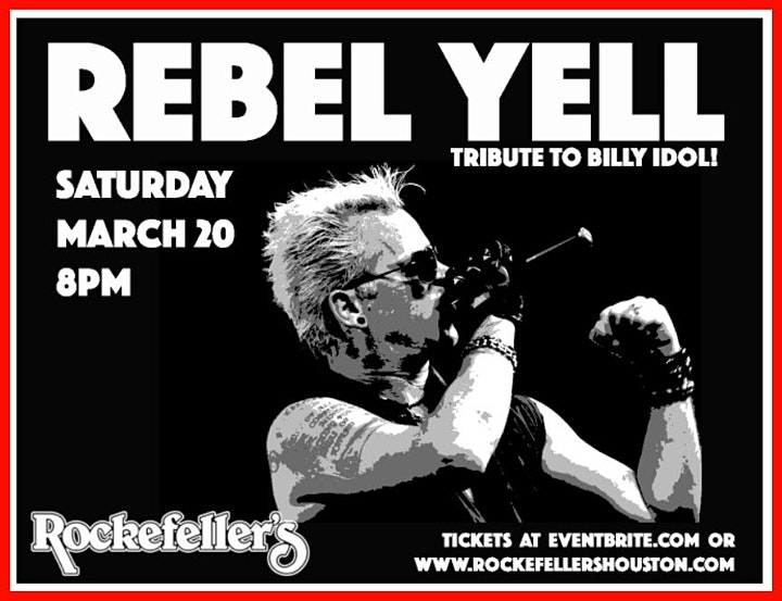 REBEL YELL - The Tribute to BILLY IDOL ! image