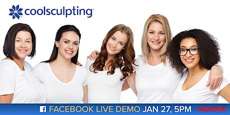VIDA Facebook Live CoolSculpting Demo & Giveaway tickets