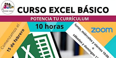 Curso de Excel Básico entradas