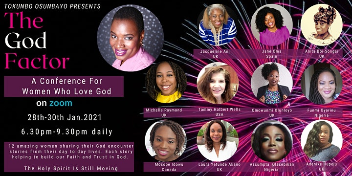 The God Factor Conference - The Holy Spirit Is Still Moving image