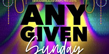 Any Given Sunday (Mardi Gras 2021 Edition) tickets