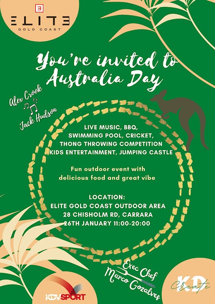 Australia Day @ Elite Gold Coast Hotel 4* image