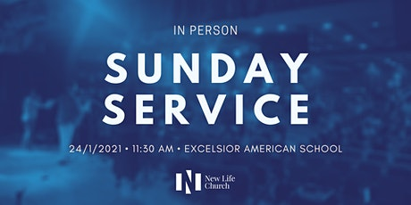 In-Person Sunday Service | 24th January 2021 tickets