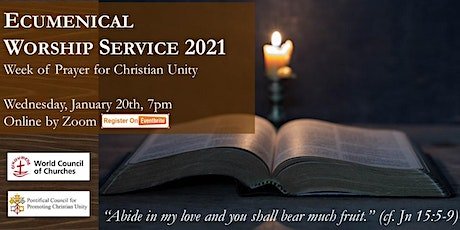 Ecumenical Worship Service 2021 tickets