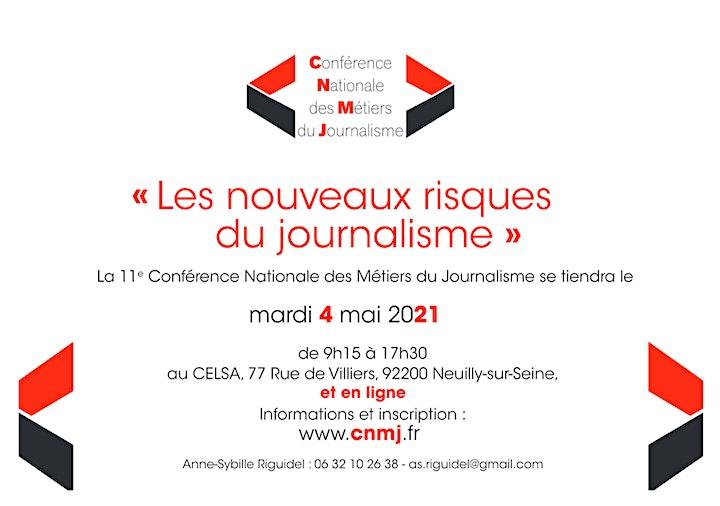 Image pour « Les nouveaux risques du journalisme » : L'édition 2021 de la CNMJ
