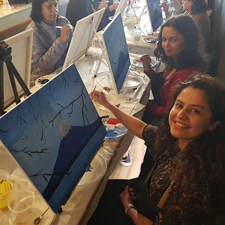 Valentine's Day Painting Workshop in Epping image