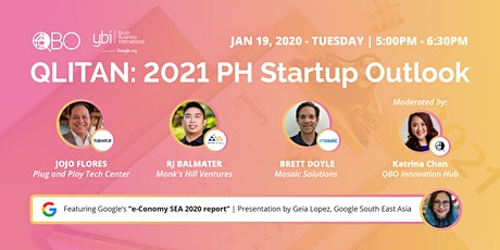 QLITAN: 2021 PH Startup Outlook tickets