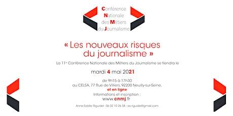 « Les nouveaux risques du journalisme » : L'édition 2021 de la CNMJ billets
