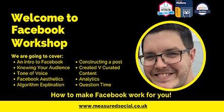 Facebook Workshop tickets