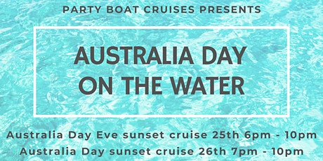 Australia Day - ON THE WATER tickets