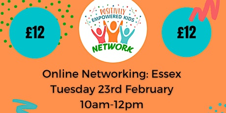 ONLINE ESSEX Positively Empowered Kids Network  February 2021 tickets