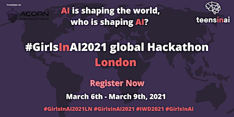 #GirlsInAI2021 Hackathon – London tickets