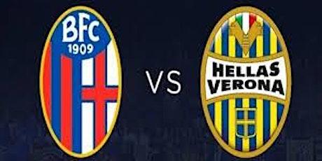 Serie-A@!.Bologna - Verona in. Dirett Live 2021 biglietti