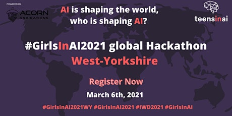 #GirlsInAI2021 Hackathon – West-Yorkshire tickets