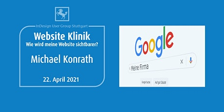 IDUGS #70 Website Klinik mit Michael Konrath Tickets