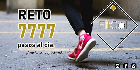 FitGal Reto 7777 pasos al día! entradas