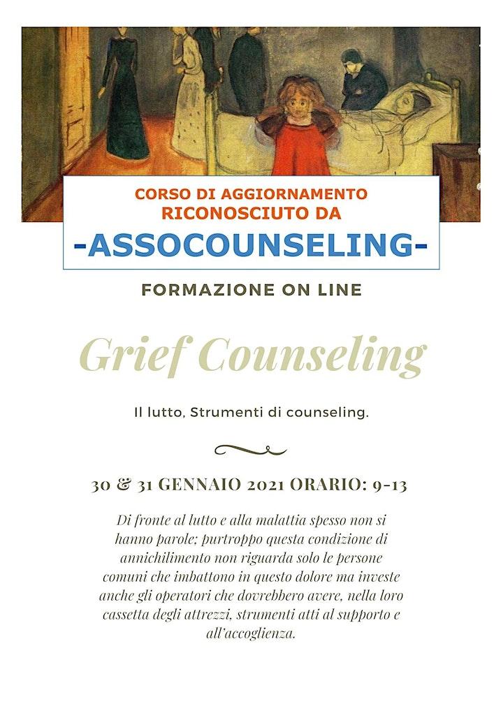 Immagine GRIEF COUNSELING. IL LUTTO: STRUMENTI DI COUNSELING quinta edizione