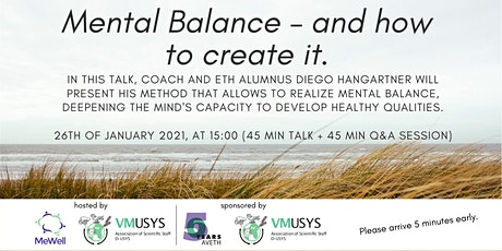 Mental Balance and How to Create It tickets
